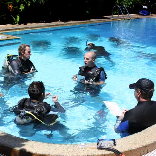 PADI Instructor Development course in Thailand