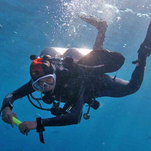 PADI tec 45 course in Koh Tao