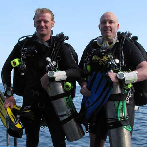 PADI tec dep instructor training in Thailand