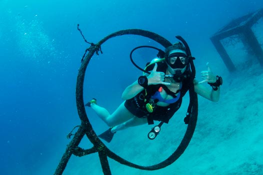 Koh Tao PADI advanced dive course