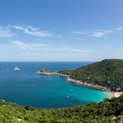 Koh Tao island for gap year diving internships