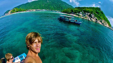 Gap year scuba diving internships in Thailand